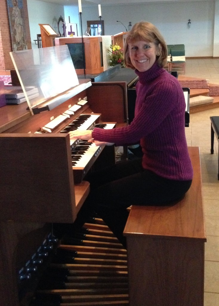 Becky Plays Organ