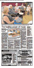va gazette drumming article image