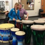 Group Empowerment Drumming protocol lecture at Old Dominion University Department of Music